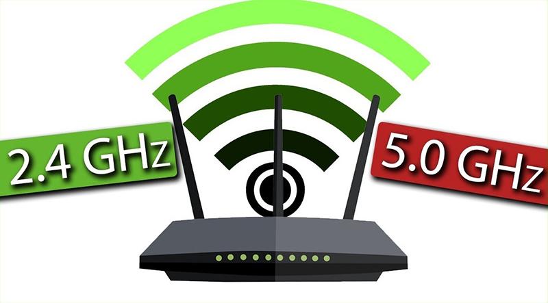 Отличия частотных диапазонов 2,4 ГГц и 5 ГГц
