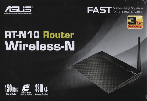 Настройка беспроводного роутера ASUS RT-N10