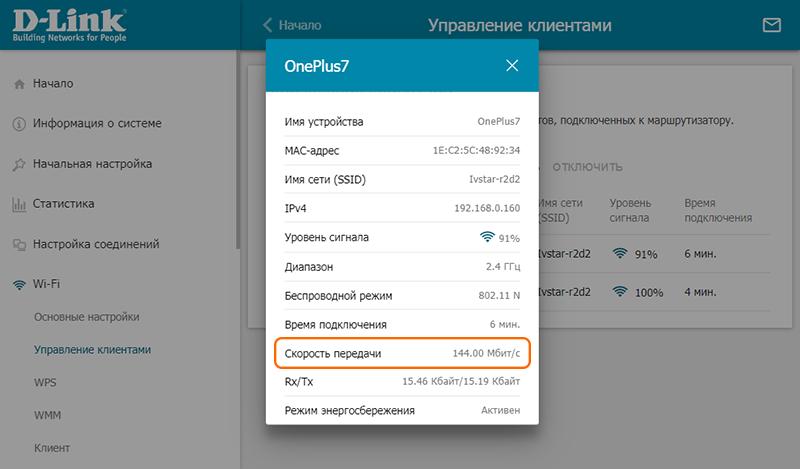 Реальная скорость соединения, используемая в технологии Wi-Fi на частоте 2,4 ГГц